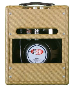 ValveTrain 205 Tall Boy - 5 Watt Tweed Amp - Rear View