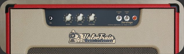 ValveTrain Saratoga - Control Panel - British inspired Hand Wired Tube Amp