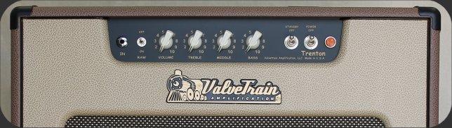 ValveTrain Trenton - 4 Voice Amplifier - Front Control Panel