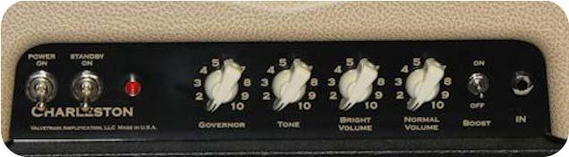 ValveTrain Charleston - Front Control Panel