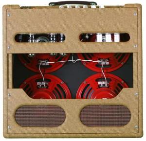 ValveTrain 635 - 50's Tweed Inspired Amp - Rear View